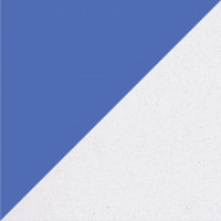 Синий-Белый Металлик