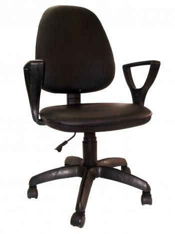 """Кресло компьютерное  """"Фаворит 1"""" материал Чёрный, пластик чёрный"""