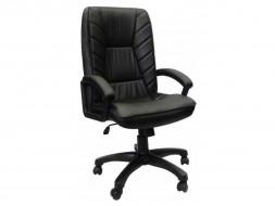 """Кресло компьютерное  """"Фортуна 5"""" (1) кожзам Чёрный, пластик чёрный"""