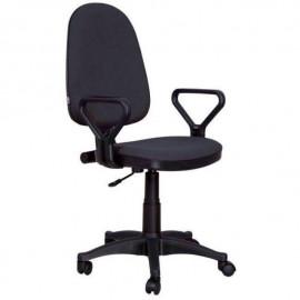 """Кресло компьютерное  """"Престиж Polo"""" материал Чёрный, пластик чёрный"""